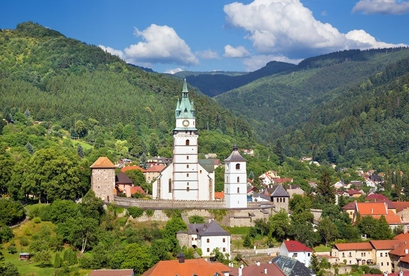 3. Kremnica: Medieval town in central Slovakia