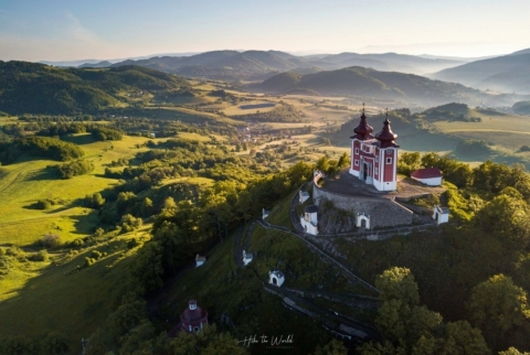 Banská Štiavnica UNESCO: Calvary hill (photo by: www.facebook.com/HiketheWorldSVK)